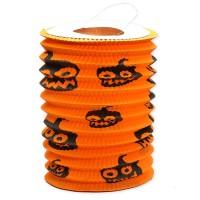 Scoop Dekorasi Halloween Lampion Tabung Oranye 56210301