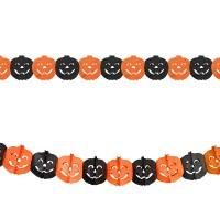 Scoop Dekorasi Halloween Garlan Kertas Labu 56211201