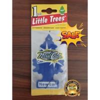 LITTLE TREES PARFUM PENGHARUM MOBIL CAR PERFUME 100% USA NEW CAR SCENT