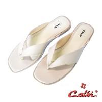 Calbi Sandal Jepit Wanita - HS 05 - Merah, 38