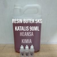 RESIN BUTEK BURAM 5KG KATALIS 90ML