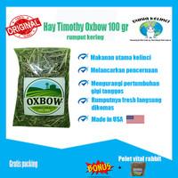 Makanan Kelinci Hay Timothy Oxbow/Rumput Kering/Jerami 100gr Terlaris