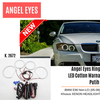 Angel Eyes Ring Cotton LED BMW E90, E91 Non LCI (05-08) - Kode 2672