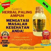 Jelly Gamat Gold-G 100 ml Obat Herbal Maag Sesak Nafas Perut Kembung