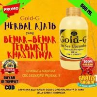 Jelly Gamat Gold G 500ml Obat Herbal Nyeri Otot Asam Urat Kolesterol