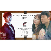 PROMO Drama Serial Korea drakor 2018 USB Flash Disk Original 16 32 GB
