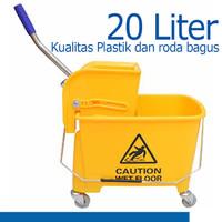 Mop Wringer Alat Peras Pel 20L 170050 Cleanmatic