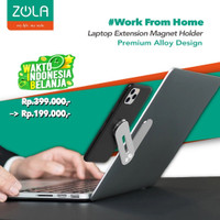 Zola Laptop Macbook Extension Magnet Phone Holder Premium Alloy Design