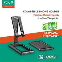 Zola Foldable Phone And Tablet Stand Holder Thin Size Pocket Friendly