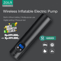 Zola wireless Inflatable Smart Electric Air Pump Compressor Portable