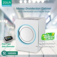Zola Banknote Disinfection Cabinet Box UV-C Sterilizer & Hot Air Dryer
