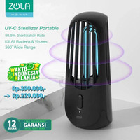 Zola UV-C Sterilizer Light Portable pocket Rechargeable With Ozone