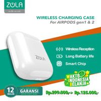 ZOLA Wireless Charging Case For Apple Airpods 1st Gen / 2nd Gen