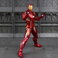 Action Figure Marvel Bootleg Ironman Artikulasi Detail merah