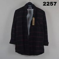 Kemeja Flanel Pria Lengan Panjang / Flanel Cowok Keren Modern - kode 2258, M