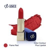 Inez Contour Plus Lipstick - Flame Red