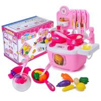 Mainan Edukasi Anak - DIY Dream Kitchen Set Masak Masakan Dapur
