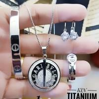 titanium set perhiasan A245