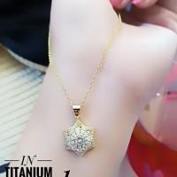 titanium kalung wanita A2428