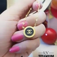titanium kalung wanita A2429
