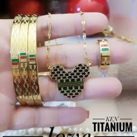 titanium set perhiasan A2421