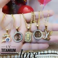 titanium kalung wanita A2427