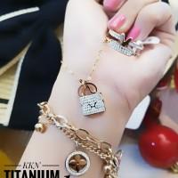 titanium set perhiasan A249