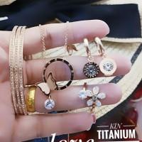titanium set perhiasan A2422
