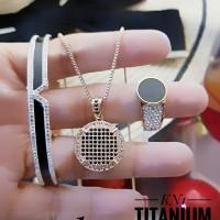 titanium set perhiasan A2419