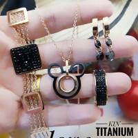 titanium set perhiasan A246