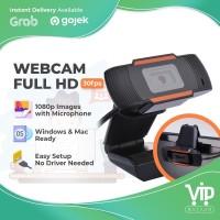 Kamera Web Webcam 1080P FHD/FULL HD MIC Komputer Laptop PC Camera X1