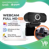 Kamera Web Webcam 1080P FHD/FULL HD MIC Komputer Laptop PC Camera X4