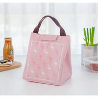 Tas Bekal Lunch Box Cooler Bag Kantor Sekolah Anak Fun Dewasa Flamingo