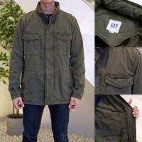 Jaket GAP Original Parka Hoodie Army Military Jacket