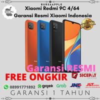 Xiaomi Redmi 9C 4/64 / RAM 4GB 64GB Garansi Resmi Xiaomi Indonesia