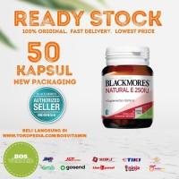 Blackmores Natural Vitamin E 250IU BPOM Kalbe - 50 Kapsul