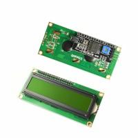 LCD1602 with I2C IIC Backpack Interface LCD Green 1602 Hijau Kuning