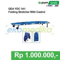 Tandu Lipat + Roda /Castor (Folding stretcher) GEA YDC 1 A1