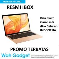 "Macbook Air 2020 13"" 256GB/512GB Garansi 1 Tahun - MWTJ2, Resmi iBox"