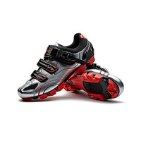 Sepatu Sepeda Santic Cleat Sepatu MTB Santic Cycling Cleat Shoes MTB - hitam silver, 40