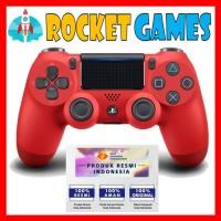 STIK / STICK / CONTROLLER PS4 SLIM NEW MODEL ORI (RED MAGMA)
