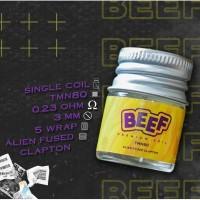 Kawat Coil Beef By Eitaro Alien Fused Clapton Yellow Blue Purple Grey