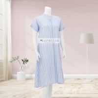 Lunaci Sky Blue Vertical Home Dress