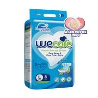 WECARE Popok Dewasa PEREKAT L 8   WE CARE BASIC Adult Diapers L8