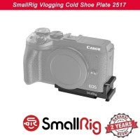 SmallRig Vlogging Cold Shoe Plate for Canon EOS M6 Mark II BUC 2517