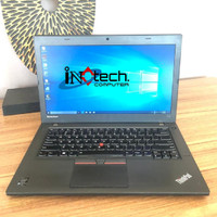 "Laptop Lenovo ThinkPad T450 - 14"" - Core i7 Gen 5 Second Termurah"