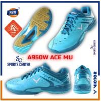 NEW !! Sepatu Badminton Victor A 950 / A950 / A-950 W ACE MU