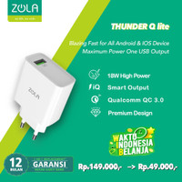 Zola International Thunder Q Charger Quick Charge 3.0
