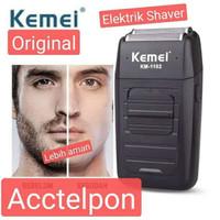 Alat Cukur Kumis Dan Jenggot Botak Recharger - Shaver Kemei KM 1102 - km 1102