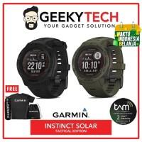 Garmin Instinct Solar Tactical Edition - Garansi Resmi 2 Tahun - Black